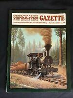 Narrow Gauge and Short Line Gazette September October 1984