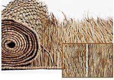 Tiki Thatch Palapa Bar Resort Grade Grass Roll Thatching Luau Skirt 36 in 10 ft