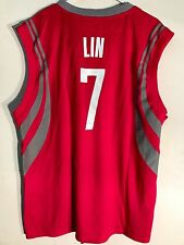 Adidas NBA Jersey Houston Rockets Jeremy Lin Red sz L