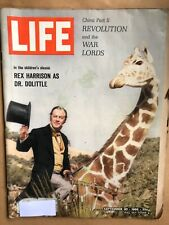 LIFE Magazine Sept 30, 1966 CHINA Revolution and the War Lords, Rex Harrison