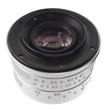 25mm F/1.8 manuelle objectif fixée pour Fujifilm X-X Mont-H1/X-E1/X-Pro1/2 X-T10