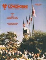 1980 Texas v SMU Program