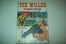 BONELLI/GALLEPPINI-TEX WILLER SANGUE NAVAJO-OSCAR FUMETTI MONDADORI 445-1974