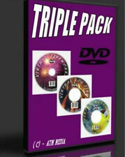 MAKE ANY TV VIRTUAL FISH TANK+ LOG FIRE + FIRE WORK DISPLAY NEW SUPERB 3 DVD SET