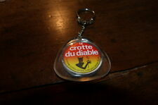 CROTTE DU DIABLE - FROMAGE A PATE CORSEE - Porte-clef / Keyring !!!