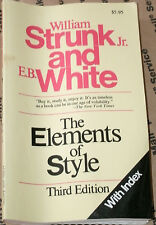 THE ELEMENTS OF STYLE 3RD ED by WM STRUNK JR./E.B.WHITE