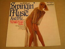 LP WITH SEXY GIRL ON COVER / AL GOODMAN AND THE MILLION DOLLAR VIOLINS