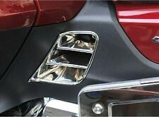Chrome Saddlebag Scuff Cover Inserts for 2012 and later Honda Goldwing GL1800