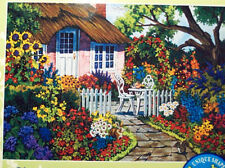 .PUZZLE.JIGSAW....WERNERSBACH...Rose Cottage......750pc