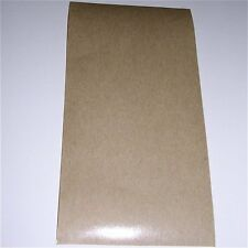 "Pressure Sensitive Non-Stick Sheet for sliding mechanism on sax etc 3""x6""x0.010"""