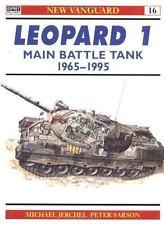 Leopard 1 Main Battle Tank 1965-95 (New Vanguard)-ExLibrary