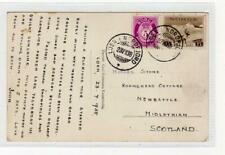Norway: 1938 picture postcard to Scotland (C37829)