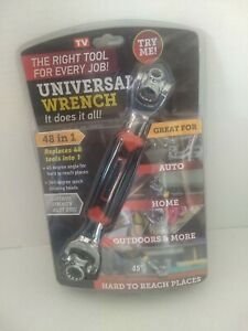 New 48-in-1 Universal Socket Wrench Ratchet Rotating Head torx metric standard