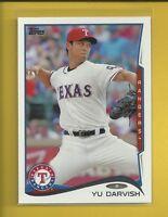 Yu Darvish 2014 Topps Series 1 Card # 300 Chicago Cubs Baseball MLB
