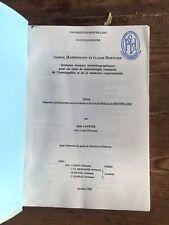 Thèse Médecine CANTIER HAHNEMANN BERNARD Méthodologie homéopathie médecine