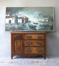 Stunning Large Original Impressionist Painting on Canvas framed and Signed