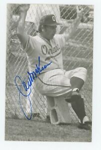 Autographed Rowe Postcard of Omaha Royals Jack McKeon