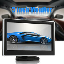 5 Inch TFT-LCD Color 2-CH Video Input Car Monitor DVD VCR Car Rear View Monitor