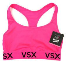 NEW Genuine VICTORIA'S SECRET VSX Pink Sports Bra Bralette Womens Size Medium