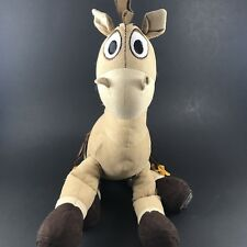"Toy Story BULLSEYE Horse 15"" Plush Vinyl Disney Store exclusive Stuffed Animal"