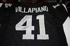 OAKLAND RAIDERS PHIL VILLAPIANO  41 SIGNED HOME JERSEY SUPER BOWL XI CHAMPS  JSA 9cbc0ddba