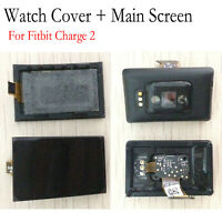 For Fitbit Charge 2 Watch Cover Main Screen LCD Bottom Case Display Replacement