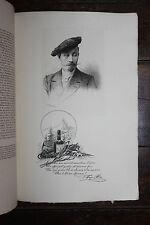 1900 Mariani Uzanne Biographie F. Hugo d'Alési eau-forte Van Muyden autographe