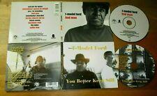 T-MODEL FORD - YOU BETTER KEEP STILL + BAD MAN 2CDs im DigiPak Delta Blues