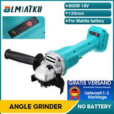 Akku Winkelschleifer 125mm Für Makita 18V Trennschleifer Schleifmaschine Flex