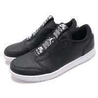 Nike Wmns Air Jordan 1 RET Low Slip On I AJ1 Black White Women Shoes AV3918-001