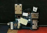 Genuine Dell Lattitude E6410 USB Audio LAN Socket Board & DC LS-3803P LS-5472P