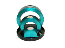 Lacquerware tealight candle holders on tray. Available in 5 colours