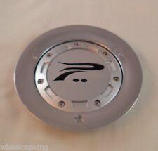 Platinum Chrome Custom Wheel Center Caps Set of 1 # C122301CAP With Bolts