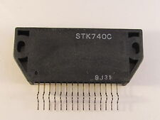 STK740C SANYO AF Power Amplifier