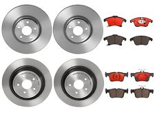 Brembo Front Rear Brake Kit Disc Rotors Ceramic Pads For Ford Fusion Lincoln MKZ