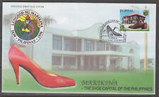 Philippine Stamps 2002 Marikina, Shoe Capital of the Philippines Complete on FDC