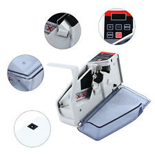 Mini Handy Bill Cash Banknote Counter Money Currency Counting Machine 600pcsmin