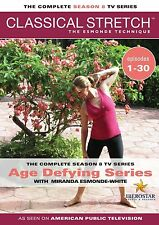 New Classical Stretch Complete Season 8 Miranda Esmonde Technique 4-DVD set