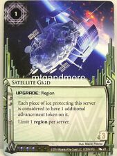 Android Netrunner LCG - 1x Satellite Grid  #023 - System Crash Corporation Draft