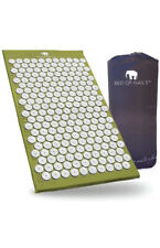 Bed Of Nails Acupressure Mat and Pillow- Green