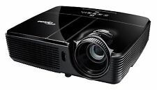 Optoma EX551 HOME CINEMA PROJECTOR 2800 lumens new lamp 6000 hours full 3d hdmi