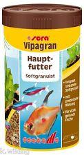 Sera vipagran 250ml Hautfutter für Zierfische Das Basis Softgranulat Granulat