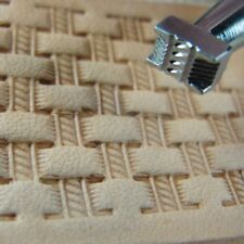 Craft Japan - #X502-2 Extra Small Rope Basket Weave Stamp (Leather Tool)