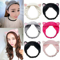 Damen Mädchen Cat Ears Stirnband Haarband Haarschmuck Haarreifen Headband #