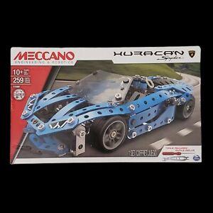 Meccano Engineering & Robotics Lamborghini Huracan Spyder Building Set STEM- NEW