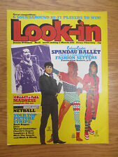 LOOK-IN MAGAZINE Comic 7 March 1981 Spandau Ballet Chas Smash Madness