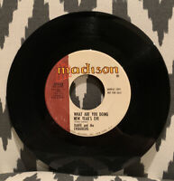 DANTE AND THE EVERGREENS- Yeah Baby/ What Are You Doing 45RPM 718A