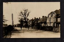 Doncaster - Thorne Road - real photographic postcard
