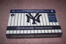 MLB: Yankeeography - Pinstripe Legends (DVD, 2011, 16-Disc Set, Collectors Editi