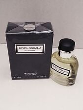 ** ITALY ORIGINAL PACKAGE** DOLCE & GABBANA POUR HOMME 2.5 oz / 75 ML EDT Spray